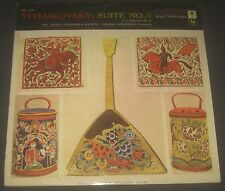 Tchaikovsky Suite No. 3 Little Orchestra Society Scherman Columbia ML 5256 lp EX