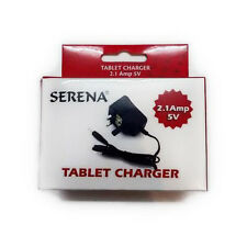 Serena Generic Tablet Charger 5V 2.1A UK Mains House Plug Pin Size 2.5*0.7*1.0