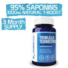 Tribulus Terrestris 1000mg x 90 VCaps, 95% Steroidal Saponins, 80% Protodioscin