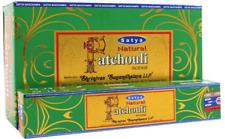 Satya Natural Patchouli Incense Sticks Pack of 12 - 1416