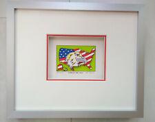 "James Rizzi Mini 3D Bild "" Land of the free"" A/P Exemplar"