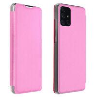 Custodia Samsung Galaxy A71 Portafoglio Flip Cover Sottilissimo - Rosa