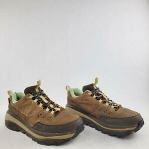 Hoka One One TOR SUMMIT Womens Brown Leather Hiking Trail Shoes Boots Size 8.5