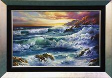 "JUDY DY'ANS ""PACIFIC SURF""   VIBRANT ORIGINAL OIL/CANVAS   24 X 36""   GALLART"