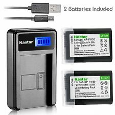 FW50 Battery&LCD Charger for Sony  NEX-3, 3N, 5, 5N, 5R, 5T, 6, 7, C3, F3