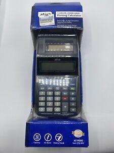 Ativa AT-P500 1-Color Handheld Printing Calculator BRAND NEW SEALED NIB