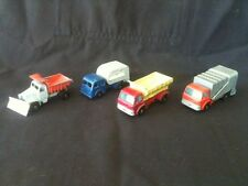 LESNEY MATCHBOX SCAMMELL SNOW PLOUGH TIPPAX REFUSE GRIT SPREADER REFUSE TRUCK