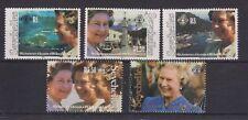 QEII 1992 40th Anniversary Accession MNH Stamp Set Seychelles SG 810-814