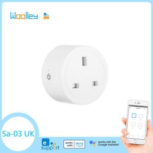 UK Smart Plug Power Socket Switch ZigBee WIFI Wireless APP Remote Control Goole