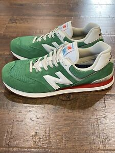 New Balance 574 Green Sneakers for Men for Sale | Authenticity ...