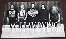 As I Lay Dying - Promotion Card 2011 - Summer Breeze