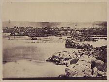 Cataractes du Nil Egypte Vintage albumine ca 1860