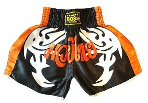 Big Boss Muay Thai Kickboxing K-1 Kampfsport kurze Hose Thai-Short Gr.S,M.L,XL.