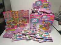 Moji Pops Bulk Joblot Bundle 12X Story Playset & 15 Moji Pops inc 2 UR Glitters