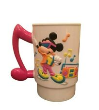 MINNIE MOUSE RETRO WORLD ON ICE 80s PLASTIC CUP