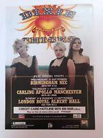 *DIXIE CHICKS UK TOUR DATES 2003 ORIGINAL PROMO FLYER ITEM - GREAT CONDITION*