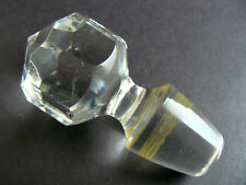 New listing Gorgeous Clear Crystal Glass Bottle Stopper (C15)
