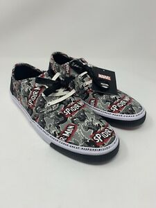 Marvel x Toms Men's Carlo Spider-Man Print Shoes Sneakers Size 11.5 10015365