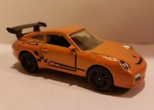 Majorette 209D 1/59th Porsche 997 911 GT3-RS Orange 2011 NEW diecast model