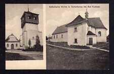 110794 AK Tscherbeney bei Bad Kudowa Katholische Kirche um 1920