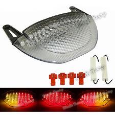 Clair LED Intégrés feu arrière clignotant pour 2007-2012 HONDA CBR 600 RR 600RR