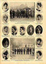 Bilder deutsch-russischen Grenze Grenzwache Prosna & Drei-Kaiser-Eck OS c.1900