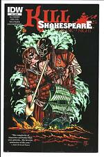 KILL SHAKESPEARE: THE MASK OF NIGHT # 2 (IDW, 1st PRINT, JULY 14), VF/NM