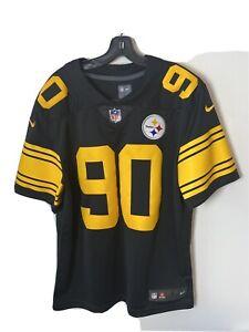 TJ WATT #90 Pittsburgh Steelers Stitched NIKE ON FIELD NFL Jersey Size L