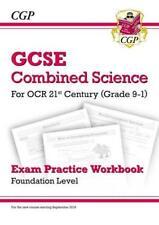 New Grade 9-1 GCSE Combined Science: OCR 21st Century Exam Practice Workbook - F