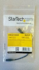 StarTech USB 2.0 8 in. Micro B USB to Micro B USB OTG Cable M/M .6' UUUSBOTG8IN