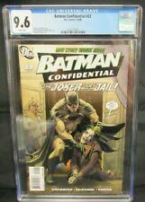 Batman Confidential #22 (2008) Stephane Roux Joker Cover CGC 9.6 CE249