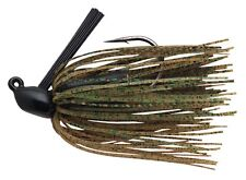 Booyah Boo Jig 1/2oz - Black/Green Pumpkin - Bass Yellow Belly Lure