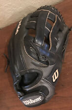 A2000 Wilson Baseball Glove INF 12 Inches Black Pro-stock