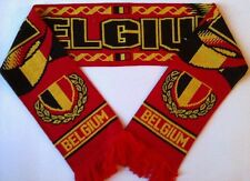 BELGIUM Football Scarve NEW from Superior Acrylic Yarns