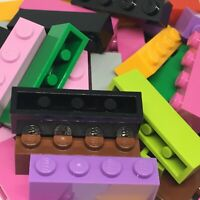 New - Lego 40 1x4 Brick - 3010 - Choose Your Colour - Grey Black Red Yellow etc