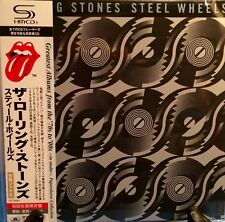 THE ROLLING STONES STEEL WHEELS JAPAN SHM MINI LP CD NEW