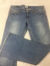 Junior's Womens Aeropostale Hailey Skinny Flare Light Stretch Jeans size 9/10
