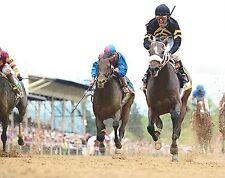 OXBOW 8X10 PHOTO HORSE RACING PICTURE JOCKEY GARY STEVENS