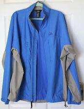 L.L. Bean Outdoors Lightweight jacket blue & gray Men's Tall Large