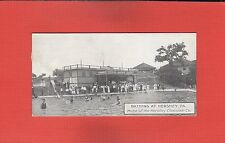 Hershey Chocolate Co. Bathing at Hershey,PA candy bar size insert postcard
