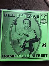 BILL CARLISLE TRAMP ON THE STREET CD Cowboy Country Western Music Cattle Compact