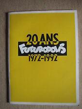 CATALOGUE FUTUROPOLIS - 20 ANS (1972/1992)