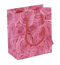 Pink Roses Small Gift Bag