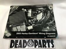 harley 99949-03 2003 all model wiring diagrams manual guide book