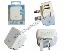 """2.1 A Dual Port USB Mains Charger,Wall Plug for iPhone 6 4.7""""/iPhone 6 Plus 5.5"""""""