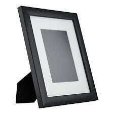 1WB3BK Contemporary Table-top 8x10 Gallery Black Standing Picture Frame, Mat