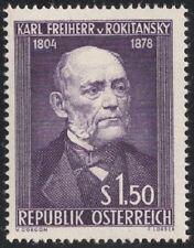 Österreich 1954 ANK 1006 / Michel 997 150. Geb. von Karl Freiherr von Rokitansky