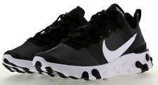Nike reaccionar elemento 55 Para hombre Zapatos en Negro/Blanco-UK 6-nuevo 👀