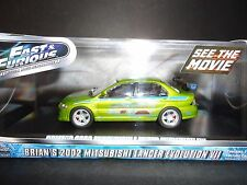 Greenlight Mitsubishi Lancer EVO VII 2002 Fast and Furious 86209 1/43