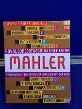 NEW UNSEALED Mahler Symphonies 1-10 Das Lied Von Der Erde Totenfeier Blu-ray 11D